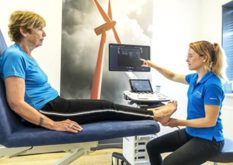 fysio venlo voetklachten voetspreekuur Knooppunt centrum voor gezondheid