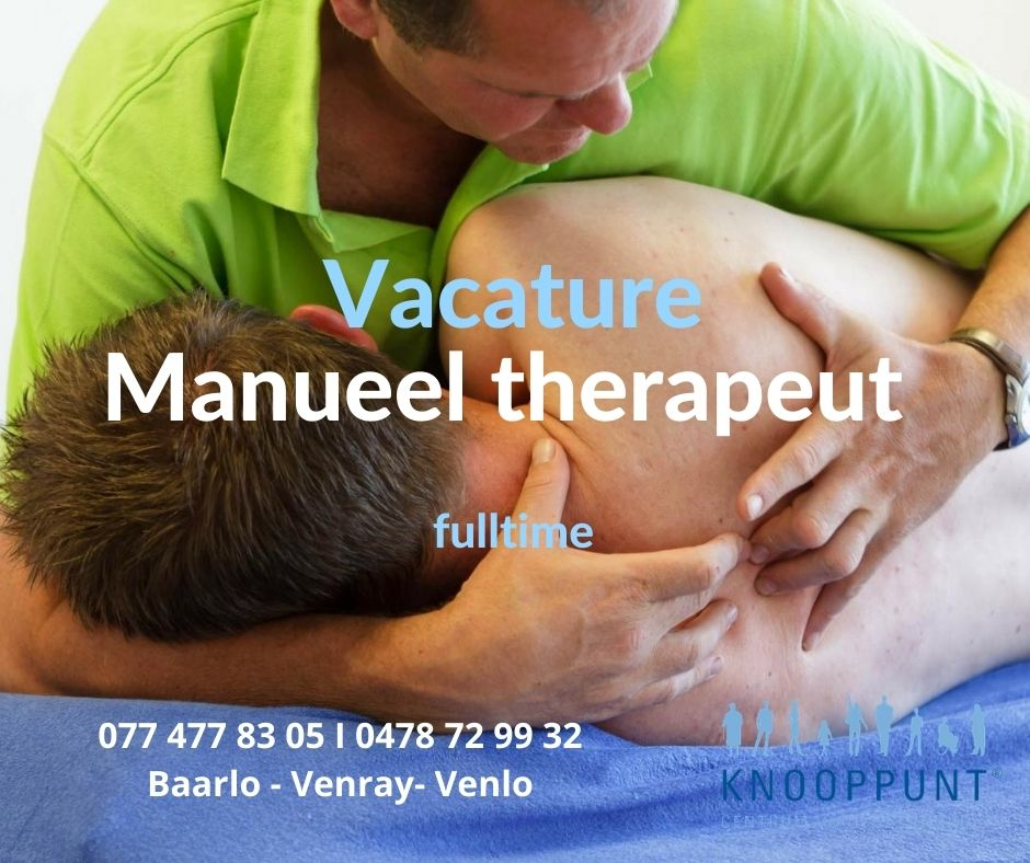 manueel therapeut venray baarlo venlo